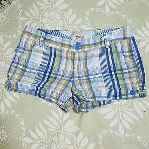 Multi-Color Striped Shorts
